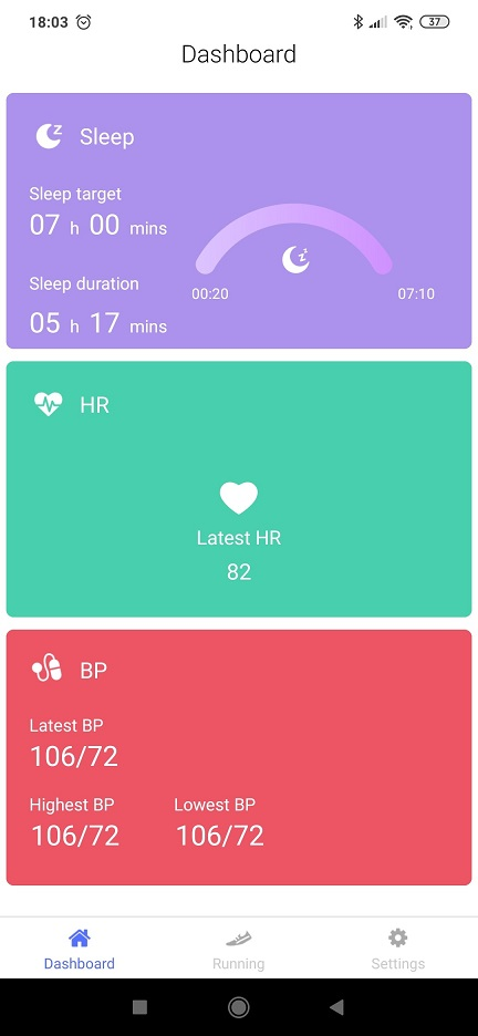 Zegarek sen tętno pomiar ciśnienia